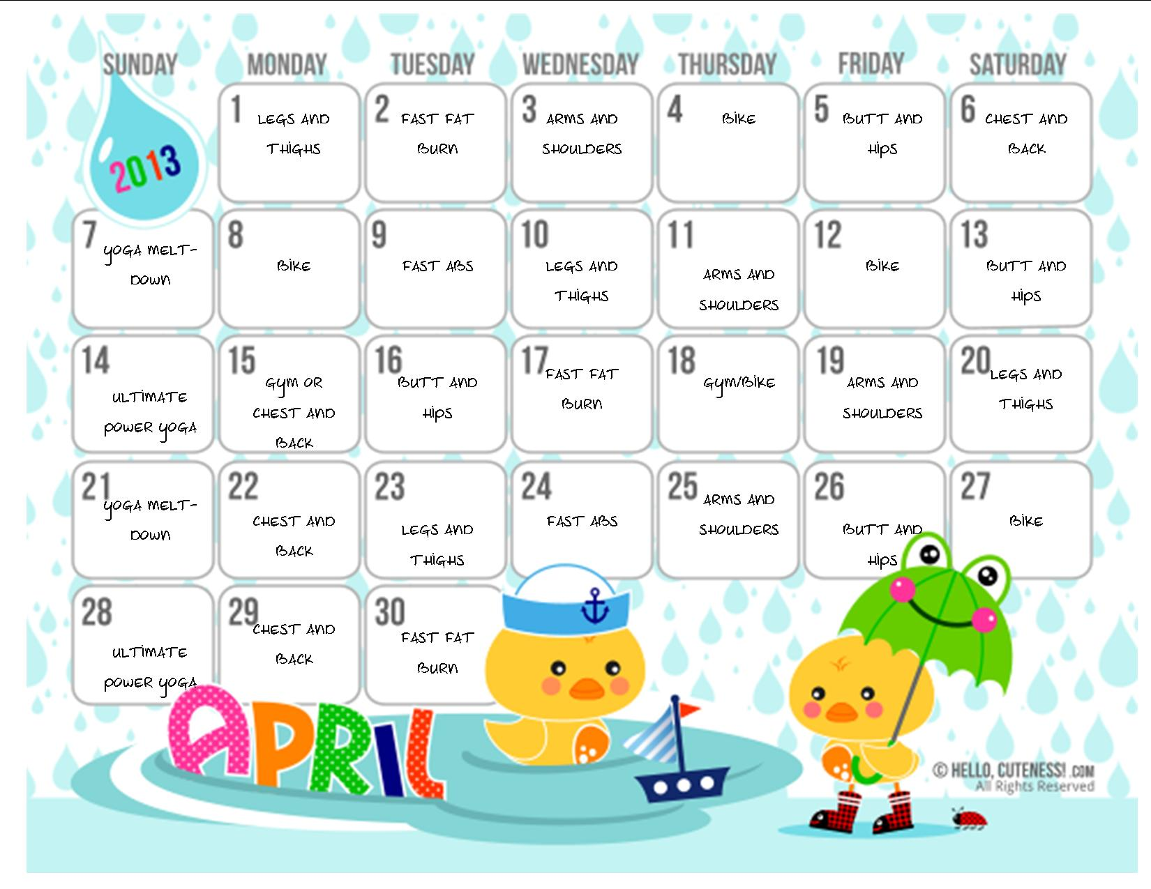 How to Customize Cute Calendars (with microsoft publisher ...