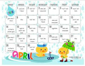 how to customize cute calendars with microsoft publisher. Black Bedroom Furniture Sets. Home Design Ideas