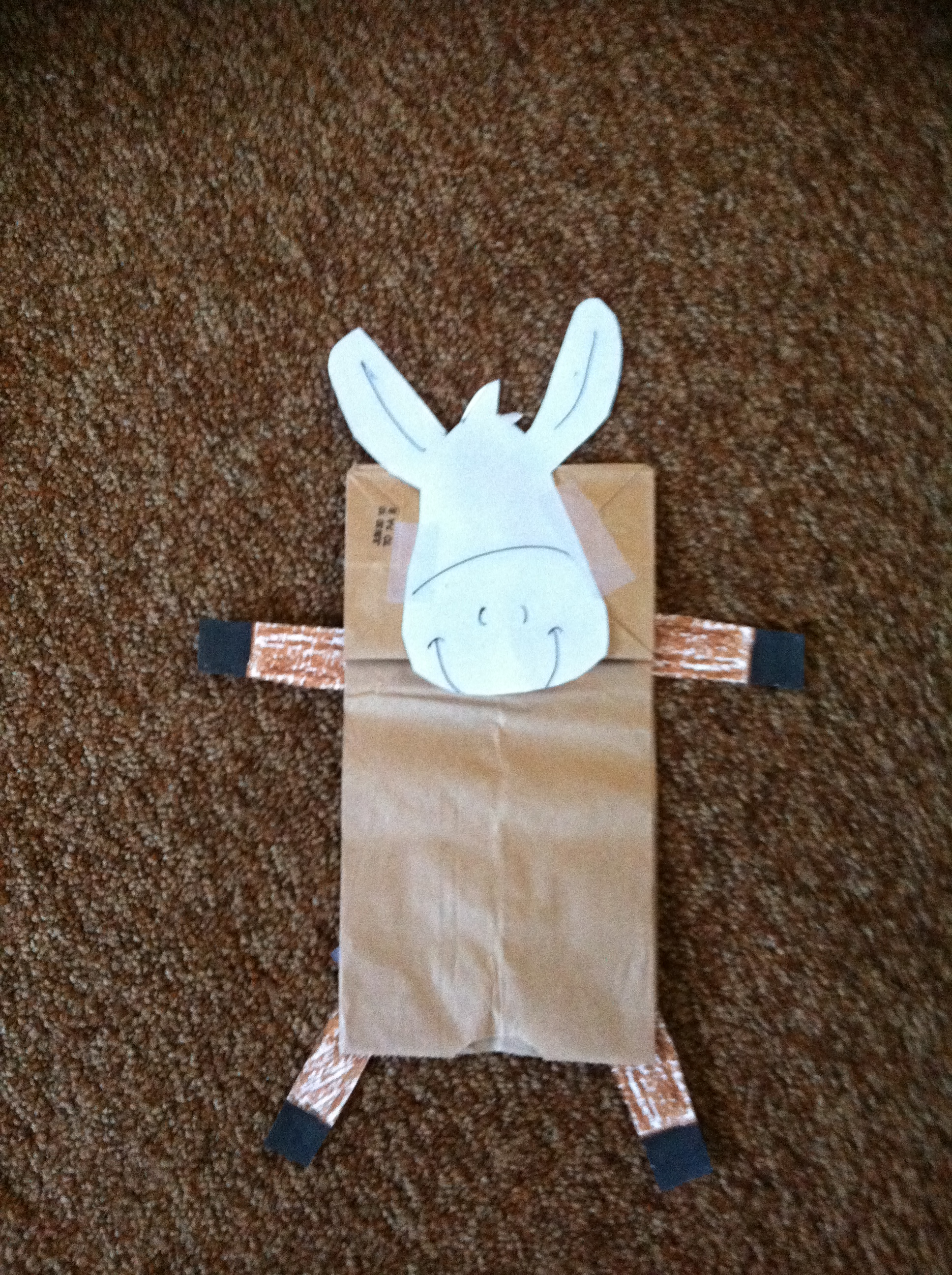 Cute Donkey Crafts Great For Palm Sunday Or Other Bible Stories