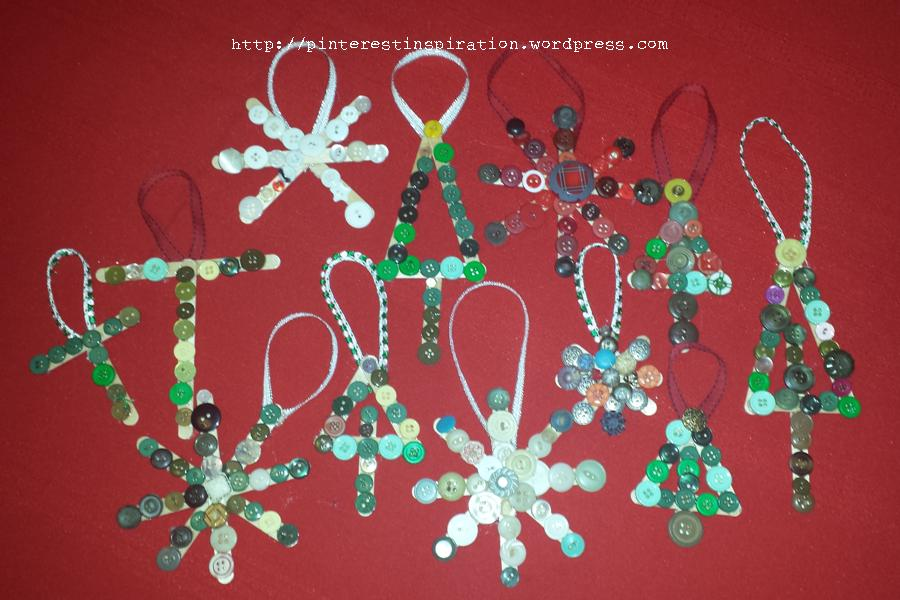 handmade kid friendly christmas ornaments pinterest