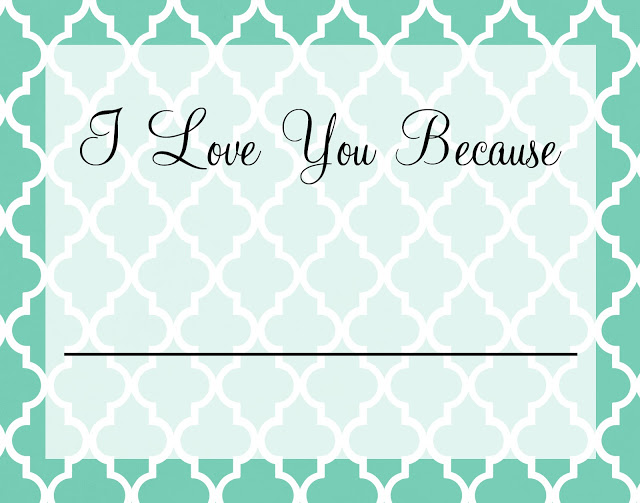 photo regarding I Love You Because Printable referred to as I enjoy on your own since\u201d Printable Framed Artwork PINterest