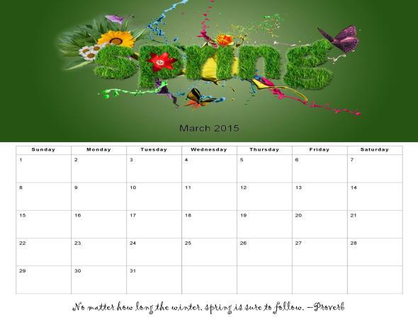 Handmade Calendar Tutorial : Custom photo calendar tutorial using microsoft publisher