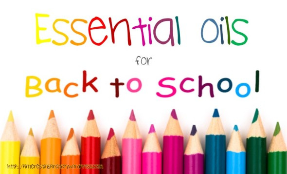 essential oils back to school