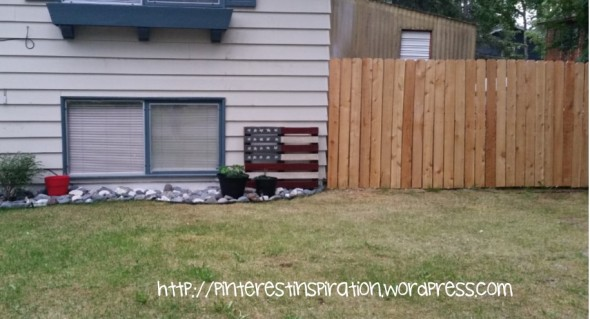 Cover your chain link fence with cedar planks and get a great look for half the cost!
