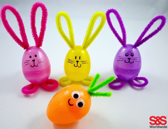 Bunny-and-carrot-egg-craft
