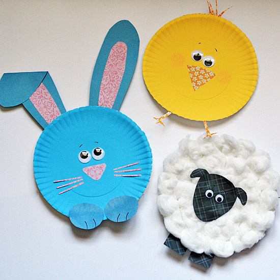 Paper-Plate-Easter-charaters