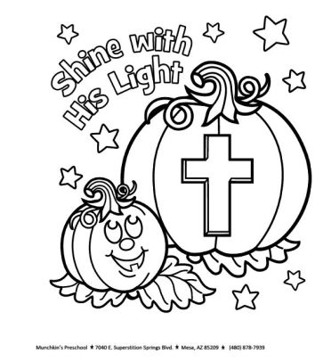 More Halloween printables, found at http://coloringpagescute.com/christian-halloween-coloring-pages/