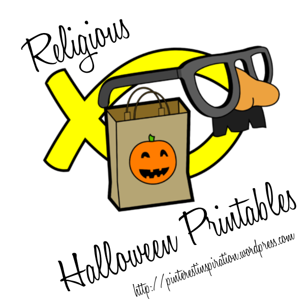 picture relating to Pinterest Printables named Non secular Halloween Printables PINterest Enthusiasm